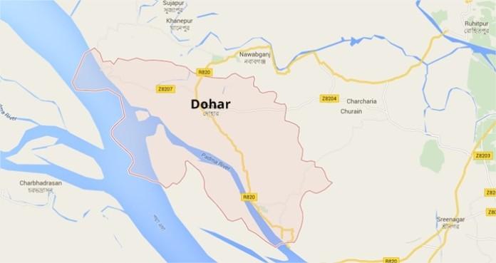 Dohar Upazila Map দোহার উপজেলা ম্যাপ