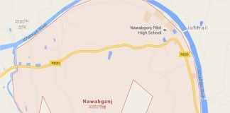 Nawabganj Upazila of Dhaka Map, নবাবগঞ্জ উপজেলা