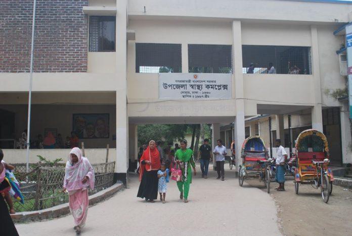 নতুন রুপে সাজছে দোহার উপজেলা স্বাস্থ্য কমপ্লেক্স