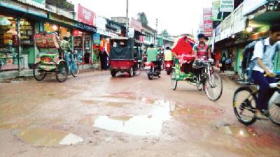 কবে শেষ হবে জয়পাড়া বাজার রাস্তার কাজ