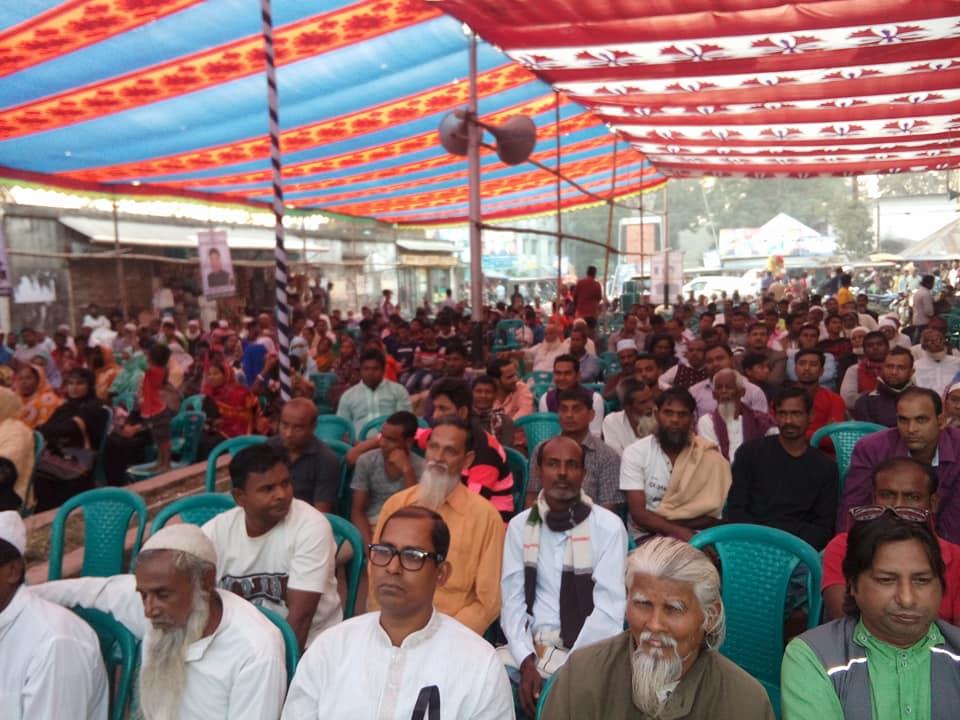 আলতাব চোকদার ও বোরহান উদ্দিনের শোকসভা অনুষ্ঠিত