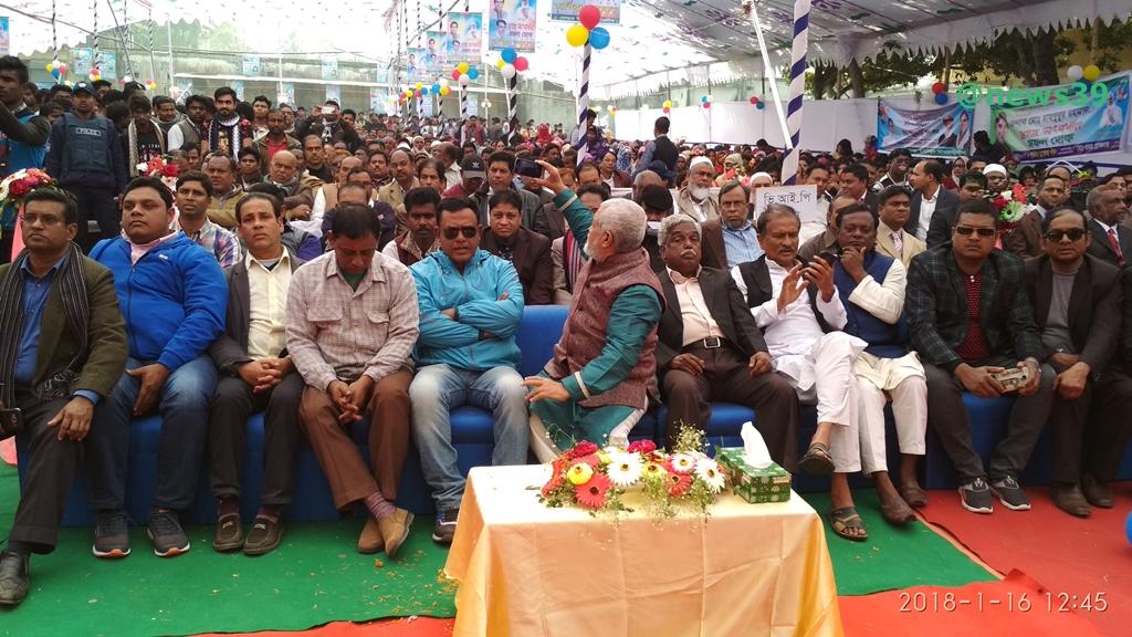 সব শঙ্কা দূর করে জয়পাড়া কলেজের ছাত্র সংবর্ধনা অনুষ্ঠিত