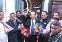 ইতালিতে রাষ্ট্রদূতের সাথে দোহার-নবাবগঞ্জ পরিষদ নেতাদের সাক্ষাৎ
