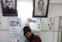 ডিএন কলেজের ছাত্র শিক্ষকের ভুল বোঝাবুঝির অবসান
