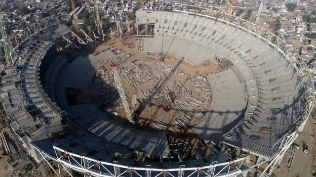 বিশ্বের সবচেয়ে বড় ক্রিকেট স্টেডিয়াম হচ্ছে আহমেদাবাদে