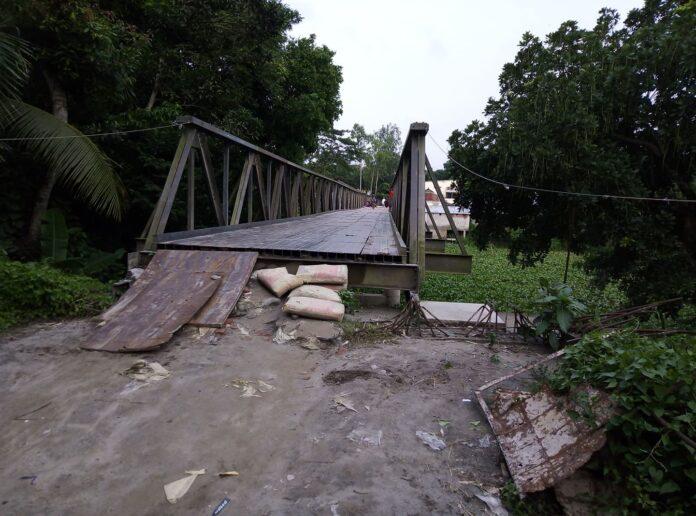 এক বছরেও উদ্বোধন হয়নি বারুয়াখালি-নয়নশ্রী ব্রিজ