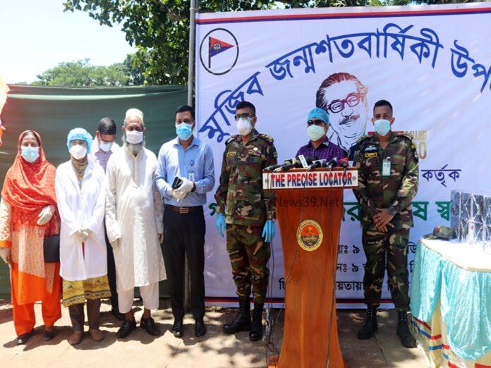 দোহারে গর্ভবতী নারীদের চিকিৎসা সেবা দিল বাংলাদেশ সেনাবাহিনী