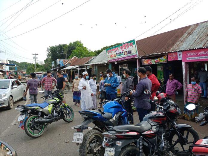 কার্তিকপুর-বাহ্রায় ভ্রাম্যমান আদালতের অভিযান