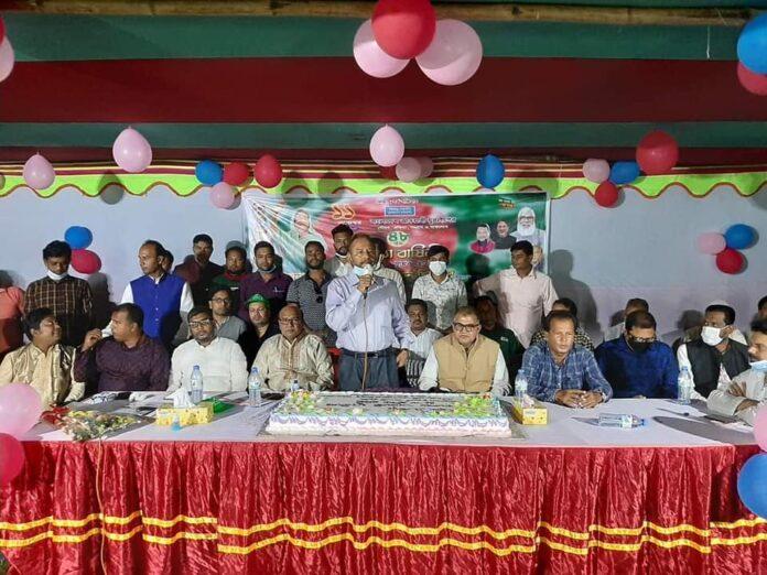 দোহারের কুসুমহাটিতে যুবলীগের ৪৮ তম প্রতিষ্ঠা বার্ষিকী পালন